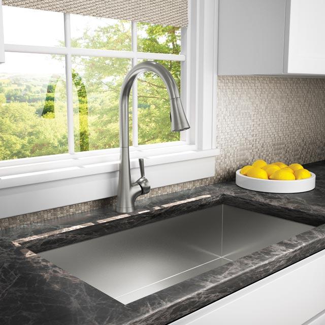 Vespera Pull Down Kitchen Faucet 2500 5123 Newport Brass