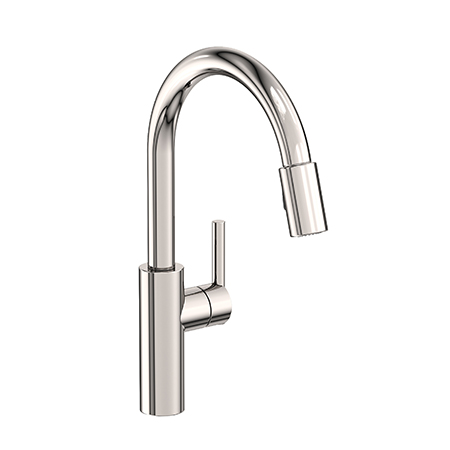 East Linear Pull Down Kitchen Faucet 1500 5103 Newport Brass