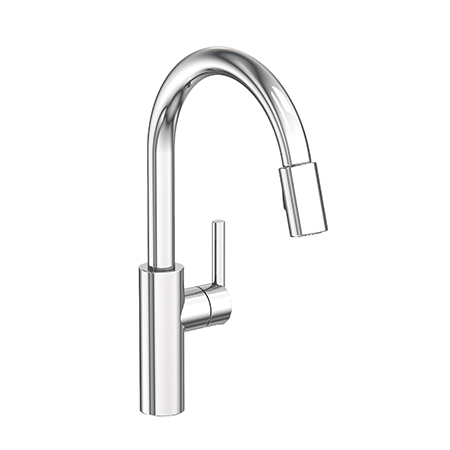 East Linear - Pull-down Kitchen Faucet - 1500-5103 ...