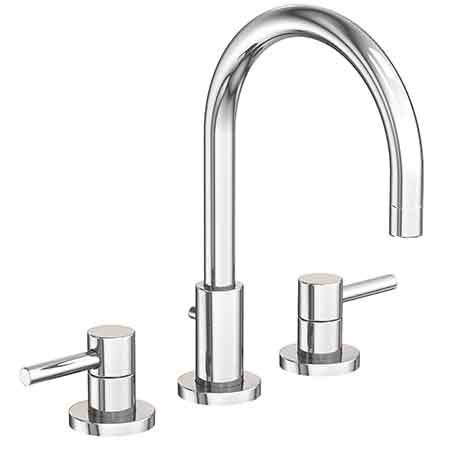 East Linear Widespread Lavatory Faucet 1500