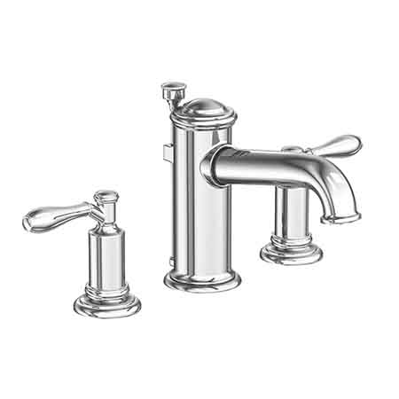 Ithaca widespread lavatory faucet 2550 newport brass for Newport bathroom fixtures