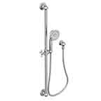 Slide Bar with Multifunction Hand Shower Set
