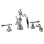 Roman Tub Faucet with Hand Shower
