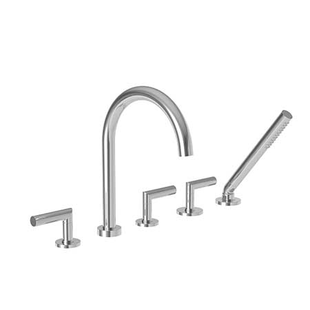 3 3107. Roman Tub Faucet With Hand Shower