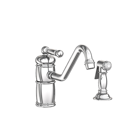 Nadya Single Handle Kitchen Faucet With Side Spray 941