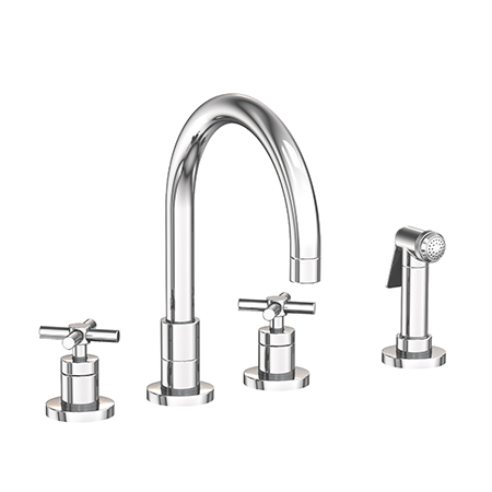 East Linear - Kitchen Faucet with Side Spray - 9911 ...
